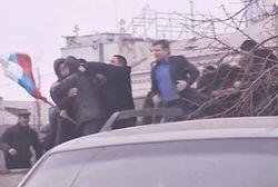 Мирные протестующие пытались поговорить с главой Донецкого облсовета