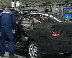 Производство автомобилей в Украине в 2015 году упало в 3,5 раза