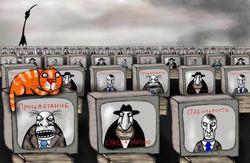 Кремль втюхивает «русский мир» Украине через информационное поле