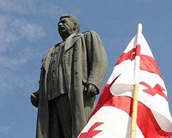 В Грузии поставили новый памятник Сталину
