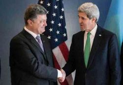 FT: несмотря на публичное заявление, Керри просил Порошенко продлить перемирие