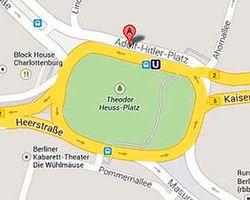 """Google пришлось извиняться за нанесение на карту """"площади Гитлера"""""""