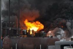 В Саратове – пожар на НПЗ из структуры «Роснефти»