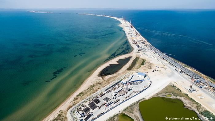 Министр юстиции Украины | Русская весна: РФ непостроит мост вКрым