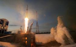 """Запуск ракеты-носителя """"Союз-2.1б"""" с Восточного"""
