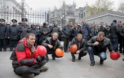Шахтеры продолжат акцию протеста в Киеве в пятницу