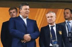 Виктор Янукович и Григорий Суркис