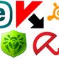 30 популярных антивирусных программ сентября 2014 г. в соцсети «ВКонтакте»