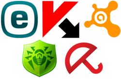 30 популярных антивирусных программ в социальной сети «ВКонтакте»