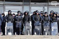 В Запорожье Майдан штурмует ОГА