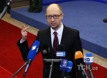 """Яценюк дал оценку словам Путина на """"прямой линии"""""""