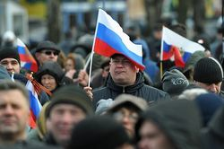 Сепаратисты в Донецке требуют присоединения к России