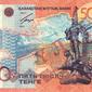 Курс тенге снижается к евро, но укрепился к фунту стерлингов