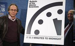 До глобальной ядерной катастрофы осталось 3 минуты