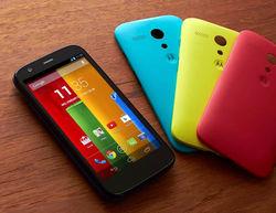 Доля Motorola в Великобритании растет благодаря Moto G