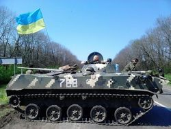 СМИ России о готовности украинских войск стереть Славянск