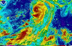 Пройдя Японию, тайфун Неогури направится на Сахалин