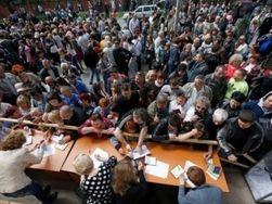 Турчинов назвал реальные цифры явки на референдум в Донбассе
