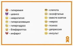 «Одноклассники» представили смайлики глазами медиков