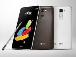 В компании LG готовы к представлению фаблетаStylus 2