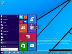 В Сети появились скриншоты новой ОС Windows 9