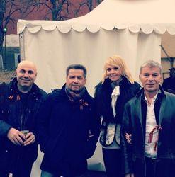 Валерия и Газманов поздравили жителей Крыма с результатами референдума