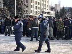 МВД Украины признало участие активистов Майдана в охране порядка