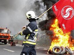 Митингующих в Бельгии разгоняли ледяной водой и слезоточивым газом