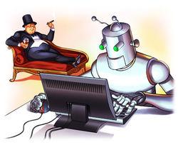 Роботы  заменят человека во многих профессиях