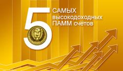 RVD Markets рассказал о 5 самых высокодоходных ПАММ счетах Форекс