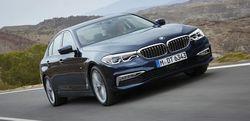 Появилась новая пятая серия BMW