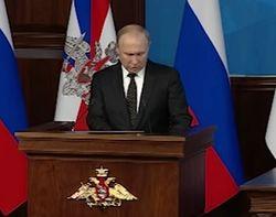 Путин пригрозил врагам России новейшим оружием