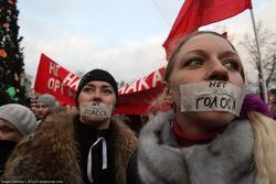 Выйти на митинги с политическими лозунгами готовы всего 7 процентов россиян