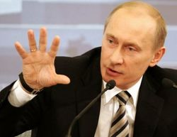 "Time: Путин - ""задира года"" для США, Украины, ЕС"