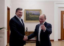 Владимир Путин не захотел общаться с Януковичем