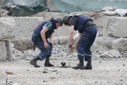 Донбасс засеян неразорвавшимися снарядами и минами