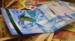 Курс тенге на Форексе укрепился к евро и фунту