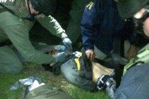 На YouTube появилось видео задержания Джохара Царнаева от ФБР
