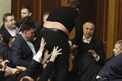 Верховная Рада разблокирована - снова драки