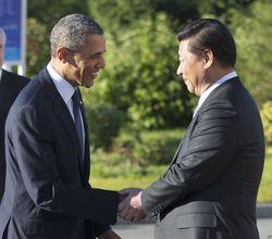 Си Цзиньпин и Барак Обама