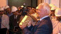 Узбекистан экспортировал в Швейцарию 21,5 тонны золота