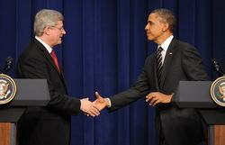 Барак Обама проспорил премьеру Канады два ящика пива