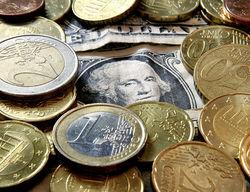 Курс евро на Forex торгуется в горизонтальном коридоре в конце дня