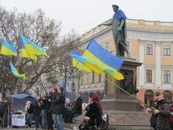 Евромайдан в Одессе власть уничтожила нынешней ночью