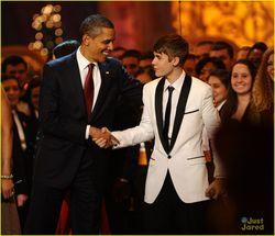 Обама и Бибер