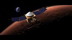 Исследовательский спутник MAVEN вышел на орбиту Марса