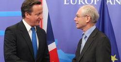 Ромпей и Кэмерон за усиление давления на Путина из-за ввода войск в Украину