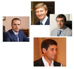Бизнесмены Украины: у кого падает, а у кого растет популярность в Уанете