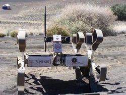 Луноход из Венгрии успешно прошел тесты перед участием в Google Lunar XPRIZE