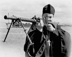 МВД в Сумах задержало пьяного сепаратиста священника УПЦ МП с пистолетом